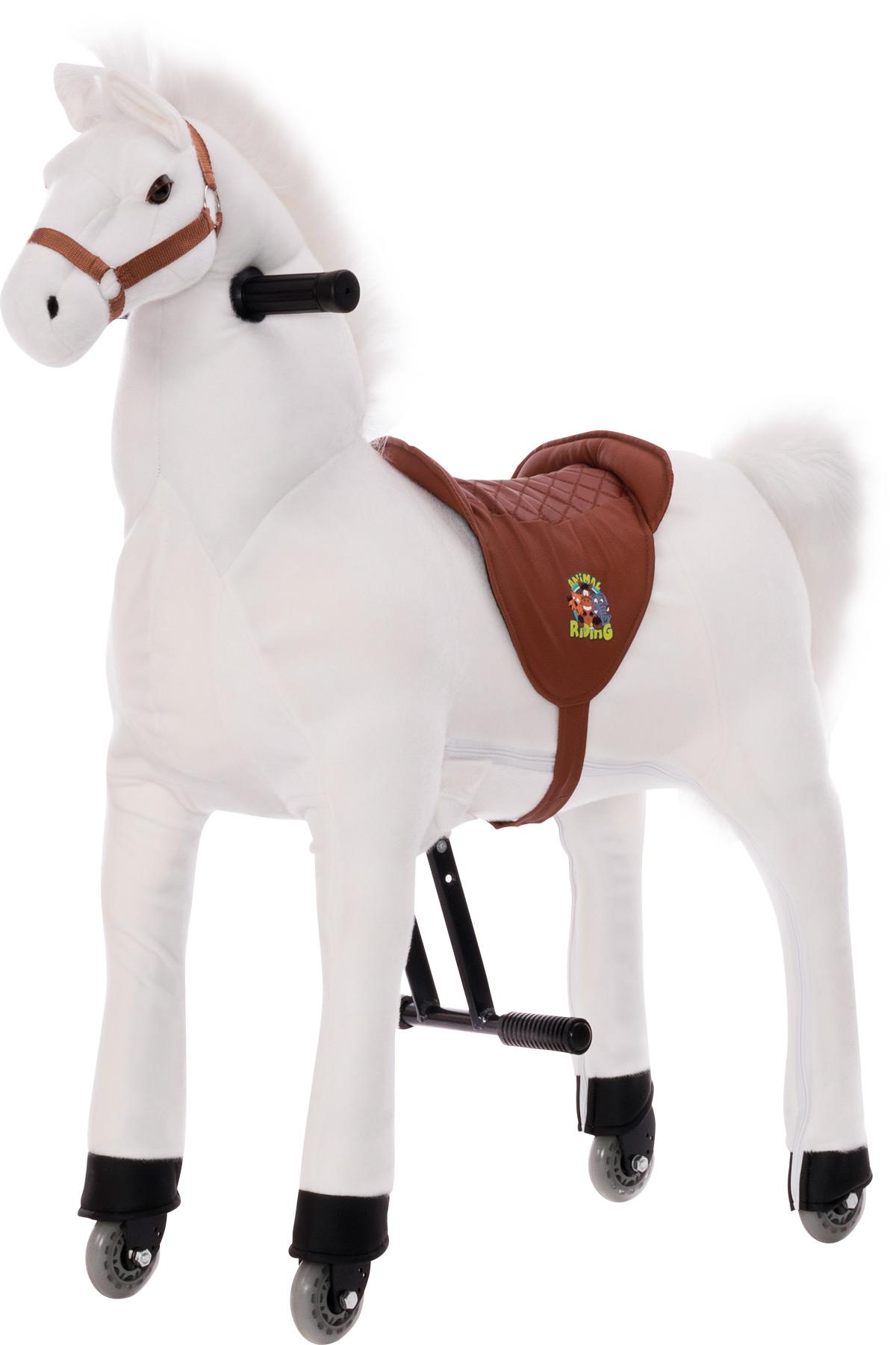 Small Foot Velký jezdecký  kůň bílý