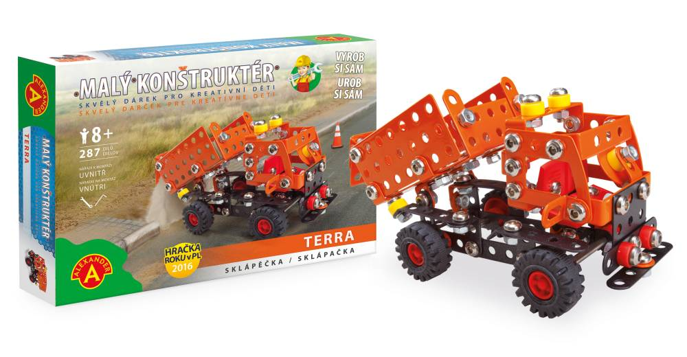 Alexander Malý konstruktér sklápěčka Terra