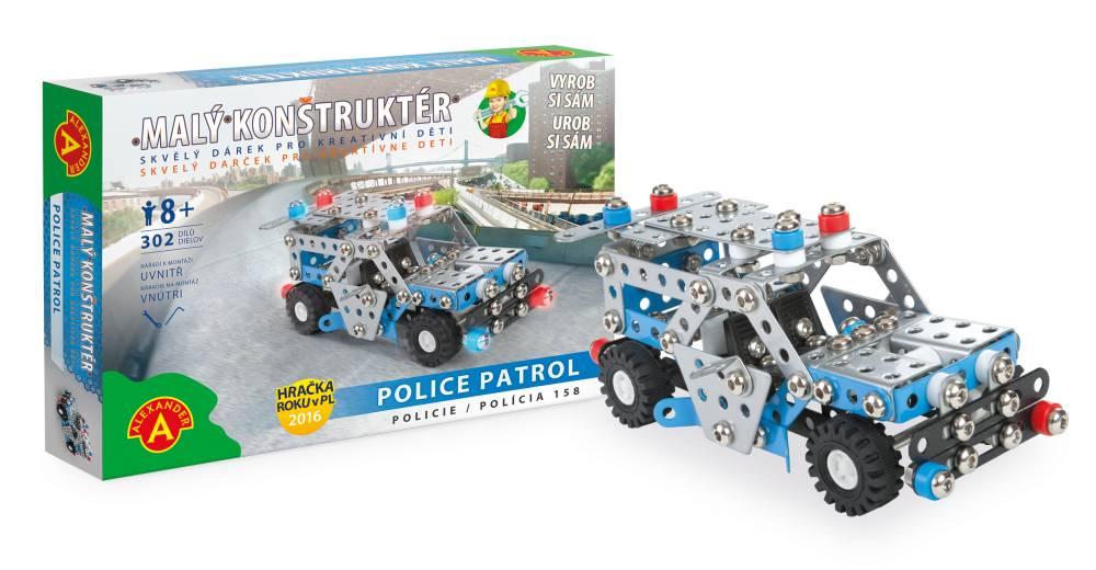 Alexander Malý konstruktér Policie Patrol