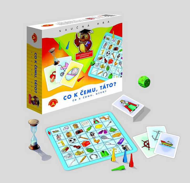Dětské hry - Co k čemu, táto?