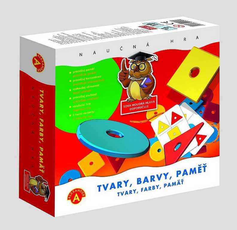 Dětské hry - Tvary, barvy, paměť