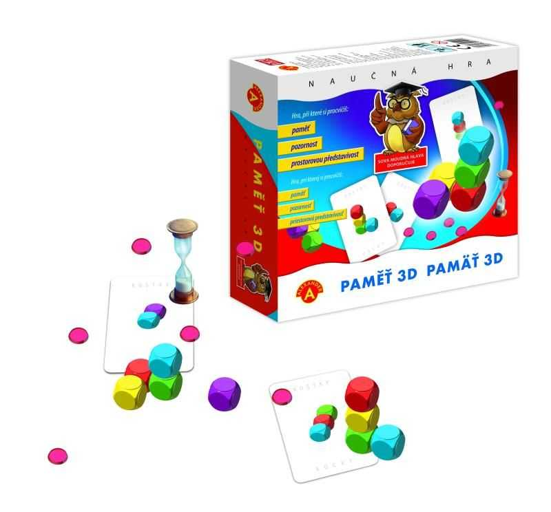 Dětské hry - Paměť 3D