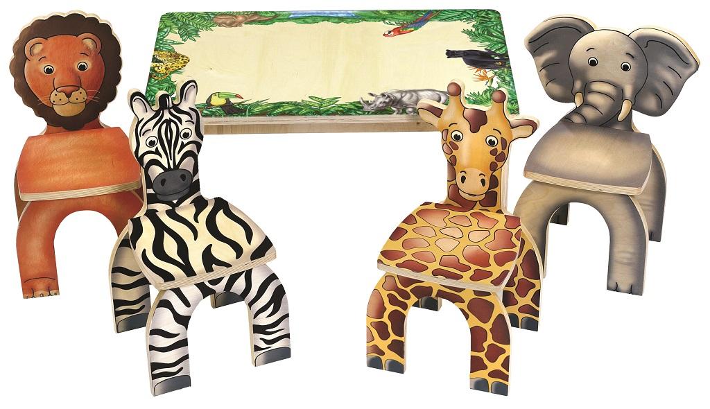 Anatex Stůl a židle Safari