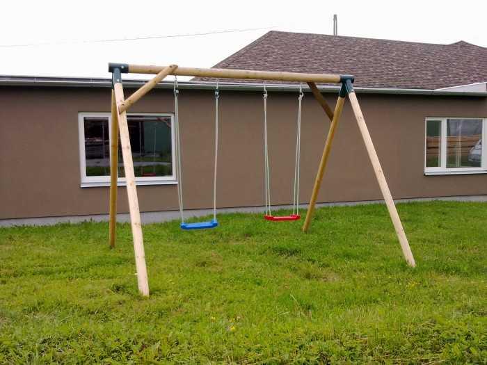 Dřevěné dětské hřiště - Stavebnice dětská houpačka Bětka