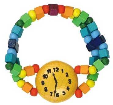 Detoa Dětský náramek hodinky duhové