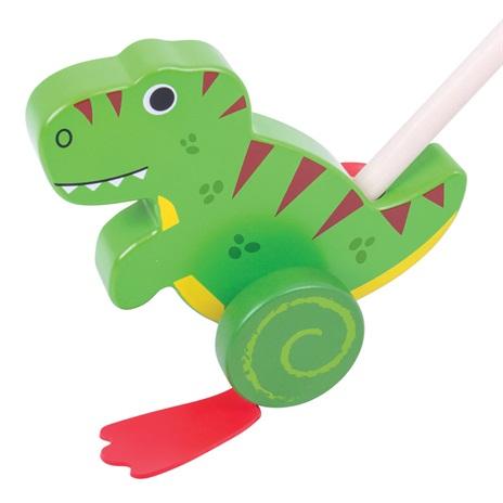Bigjigs Baby Dřevěný jezdík T-Rex