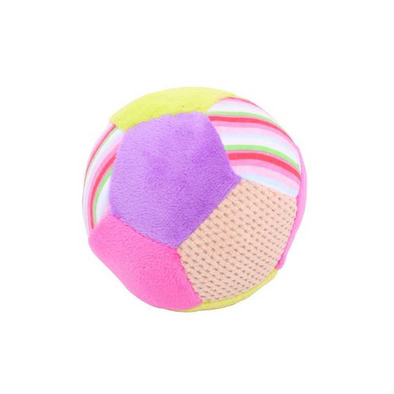 Bigjigs Baby Textilní hračka - Chrastítko balónek Bella