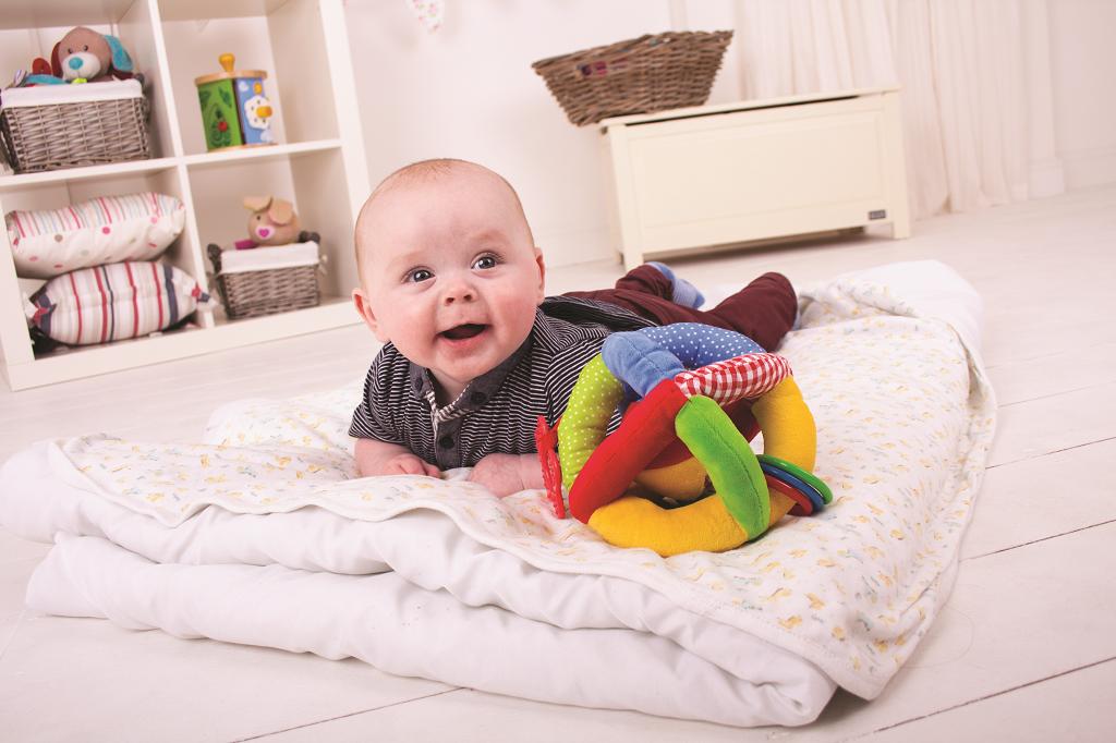 Bigjigs Baby Textilní aktivní balónek
