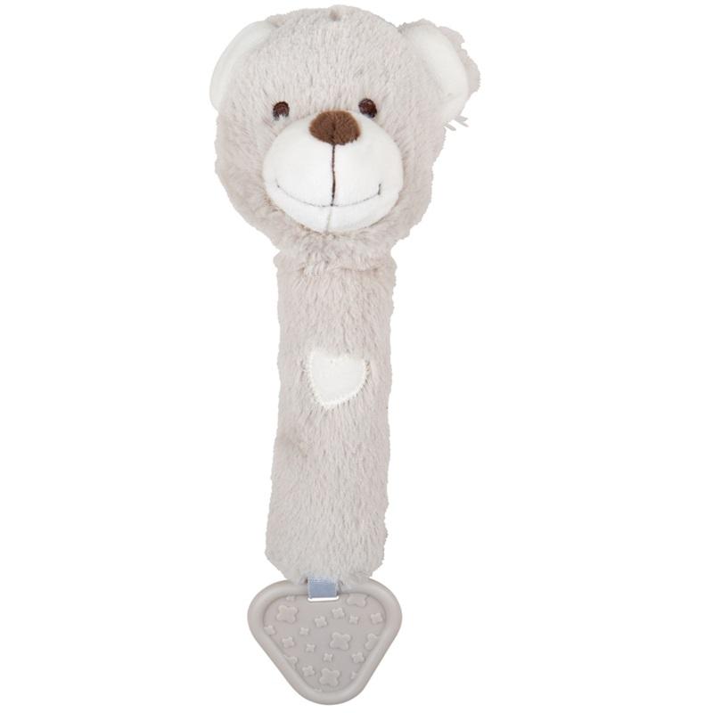 Bigjigs Baby Chrastítko 3v1 medvídek