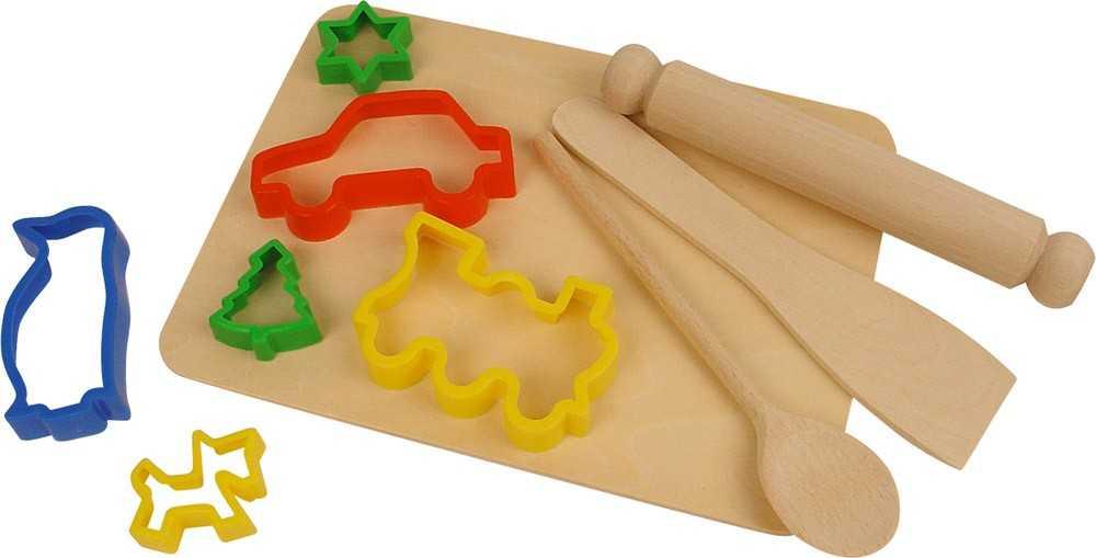 Bigjigs Toys Pečící set s vykrajovátky