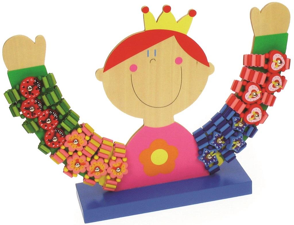 Bigjigs Toys Dřevěný stojan na hodinky