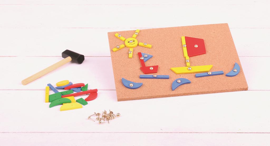 Bigjigs Toys Kreativní zatloukací hra