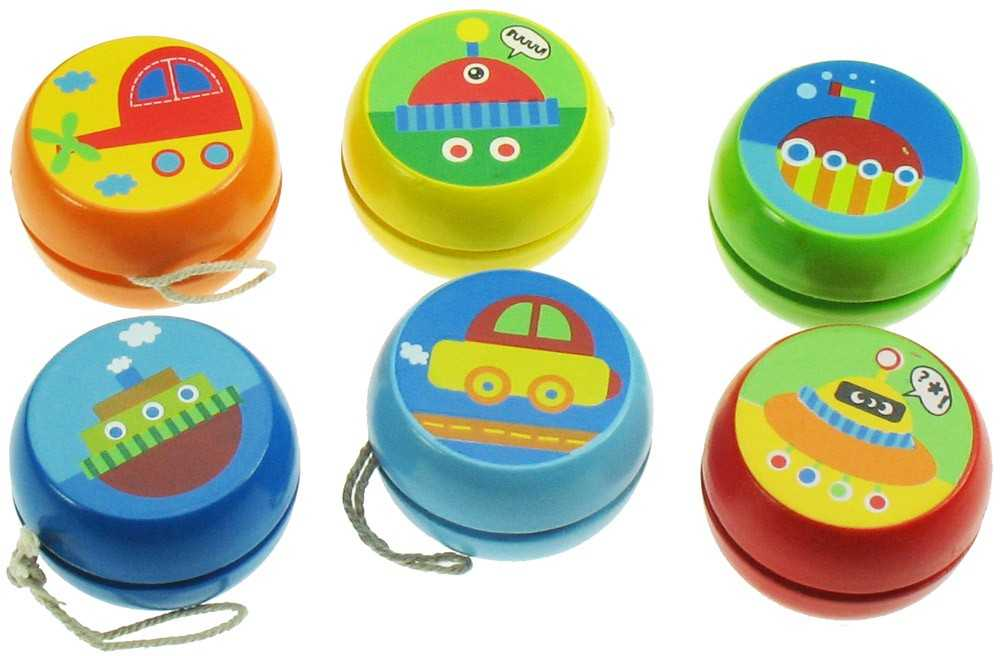 Bigjigs Toys- Dřevěné Jojo - doprava