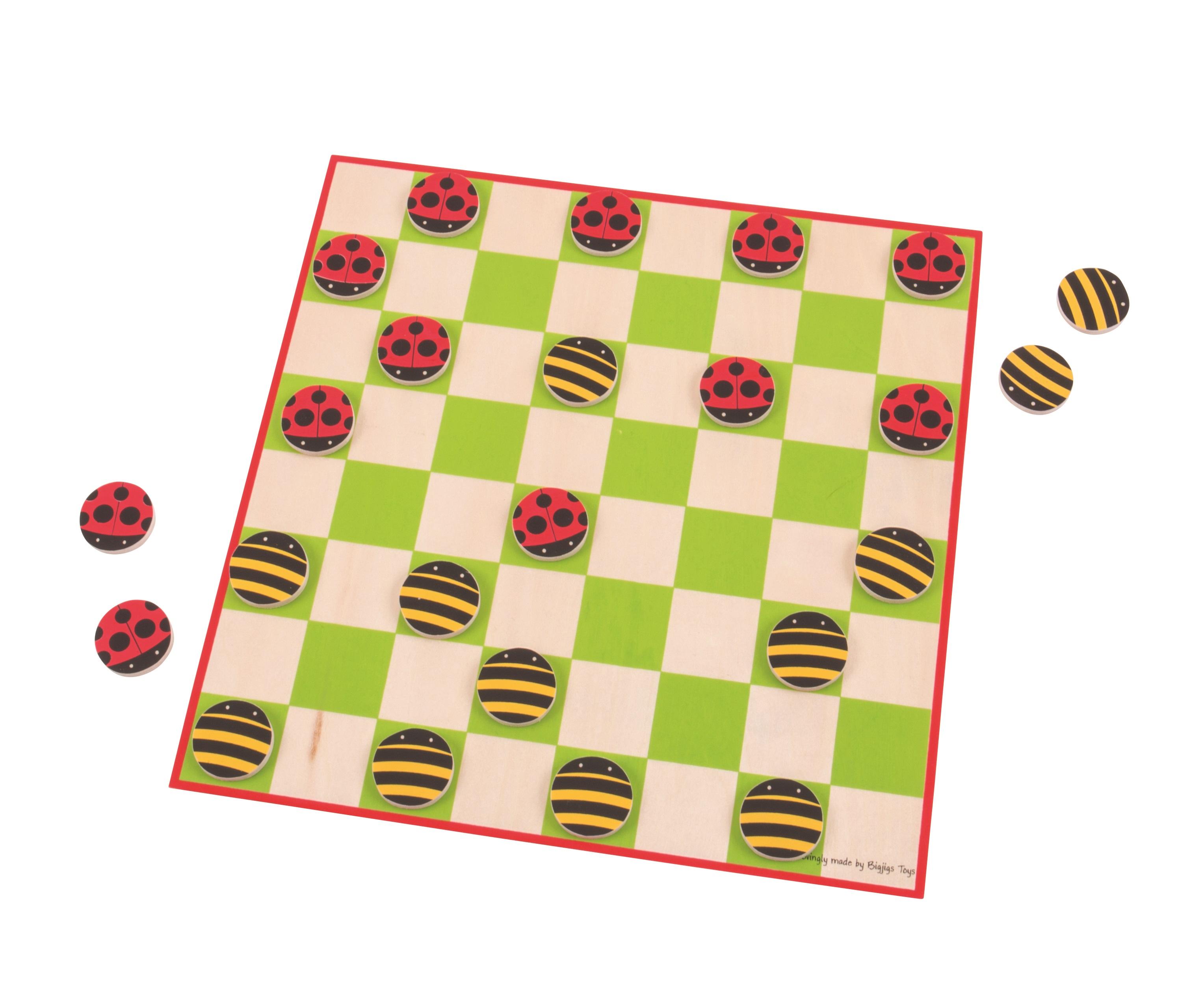 Bigjigs Toys Veselá hra s broučky
