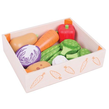 Bigjigs Toys Krabička se zeleninou