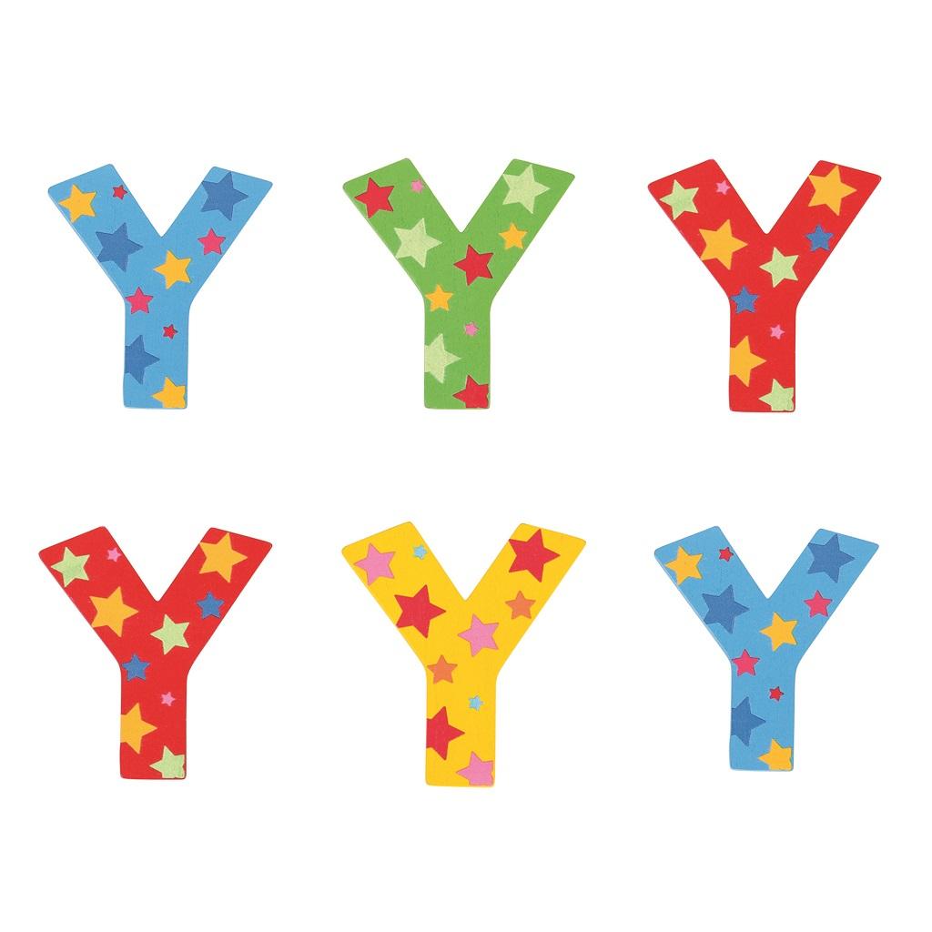 Bigjigs Toys hvězdičkové písmenko Y
