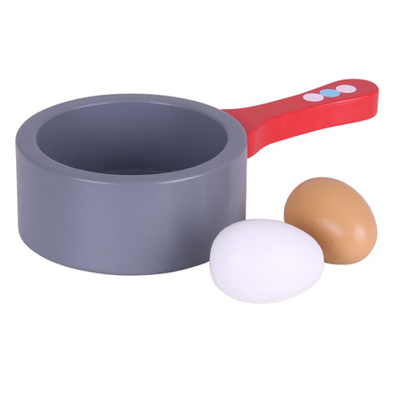 Bigjigs Toys Pánev a vejce