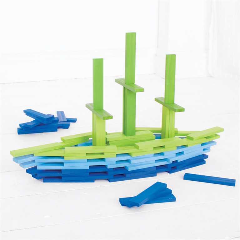 Bigjigs Toys Hrací desky moře 100 dílů