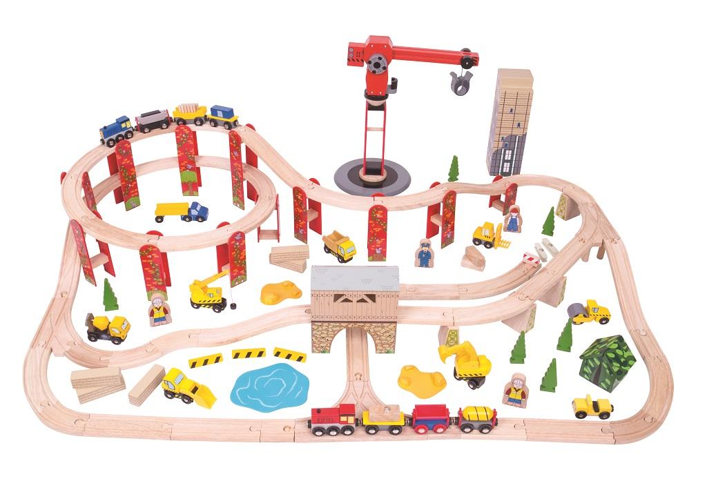 Bigjigs Rail Vláčkodráha Stavba