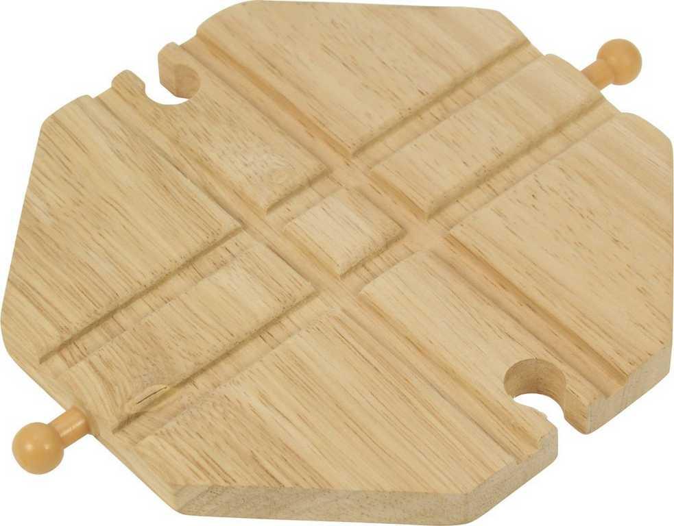 Bigjigs Rail - Křižení dřevěné vláčkodráhy