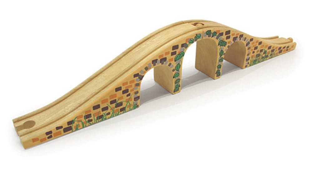 Bigjigs Rail dřevěná vláčkodráha  - Most