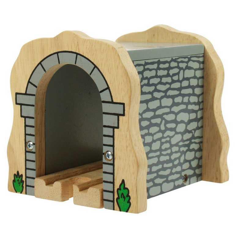 Bigjigs Rail dřevěná vláčkodráha - Kamenný železniční tunel