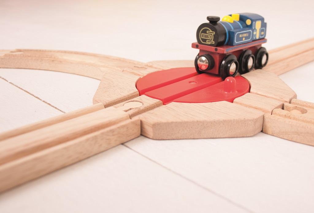 Bigjigs Rail Točna se 4 výjezdy