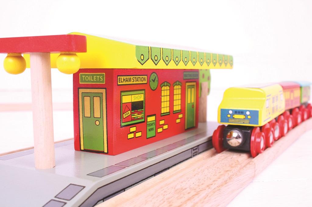 Bigjigs Rail Venkovské nádraží