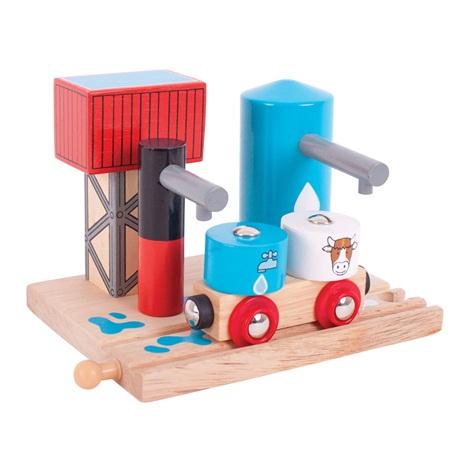 Bigjigs Rail Napáječka na vodu a mléko