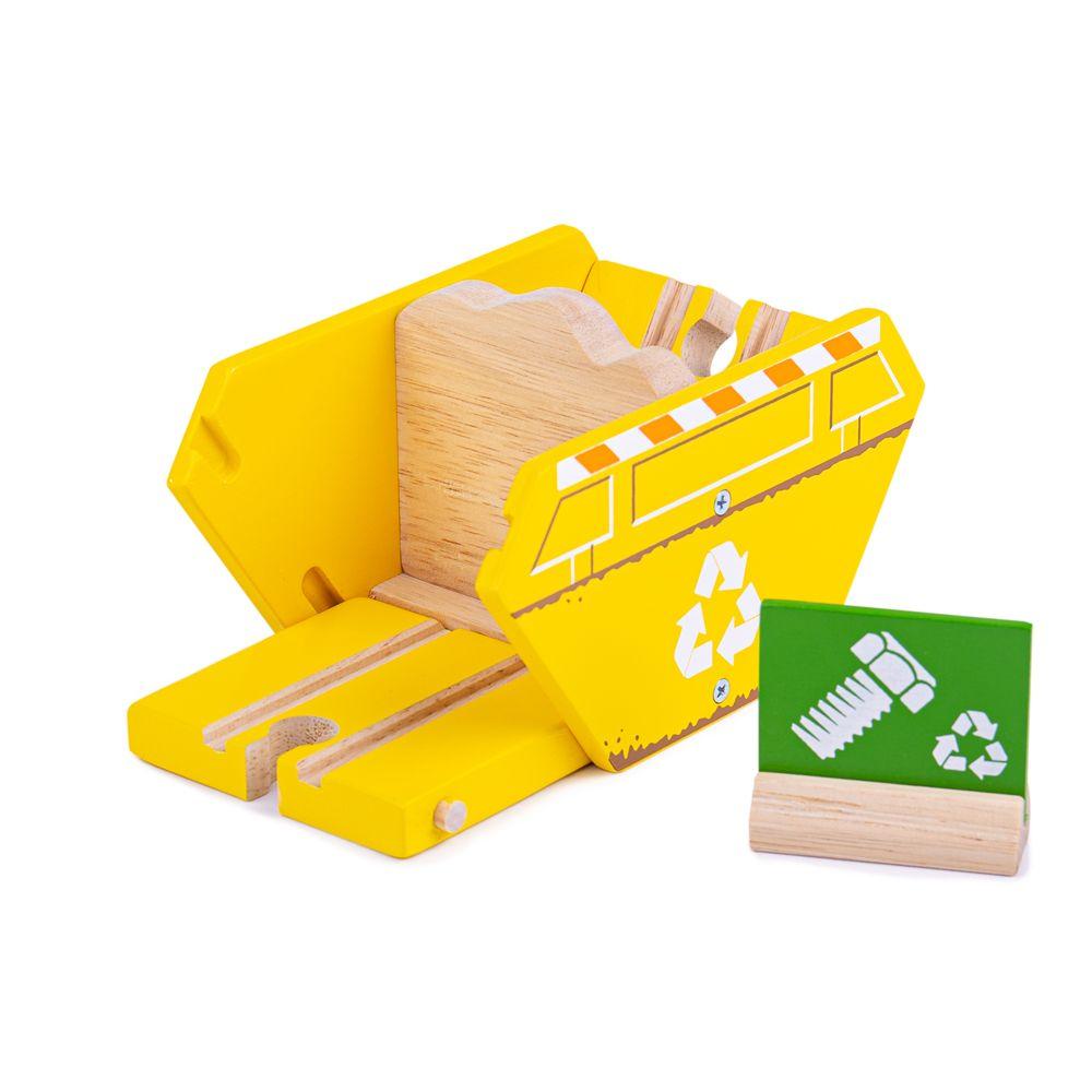 Bigjigs Rail Kontejner recyklace