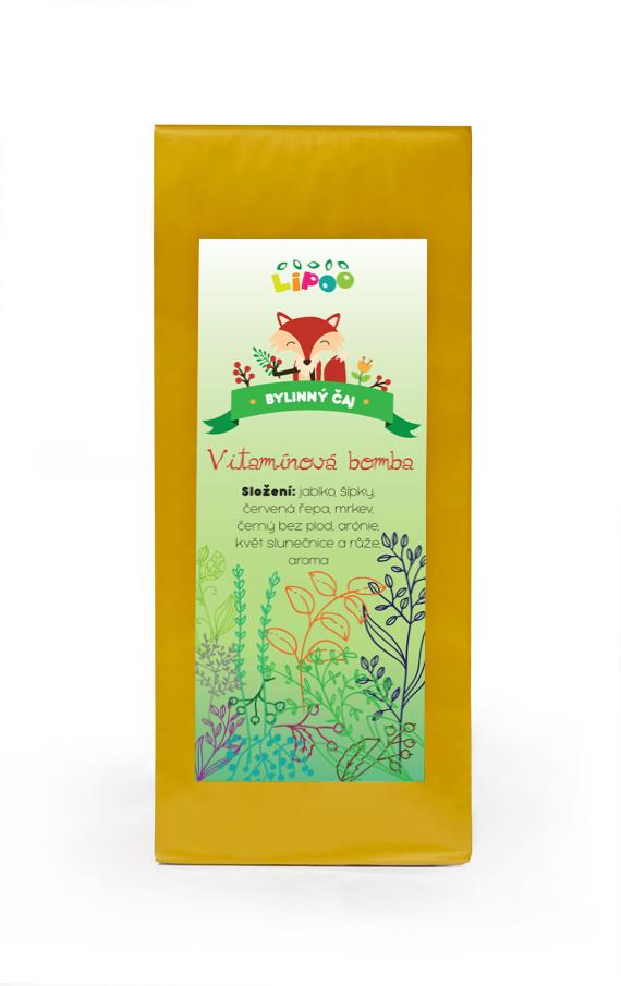 Čaj - Bylinné dětské čaje - Vitamínová bomba