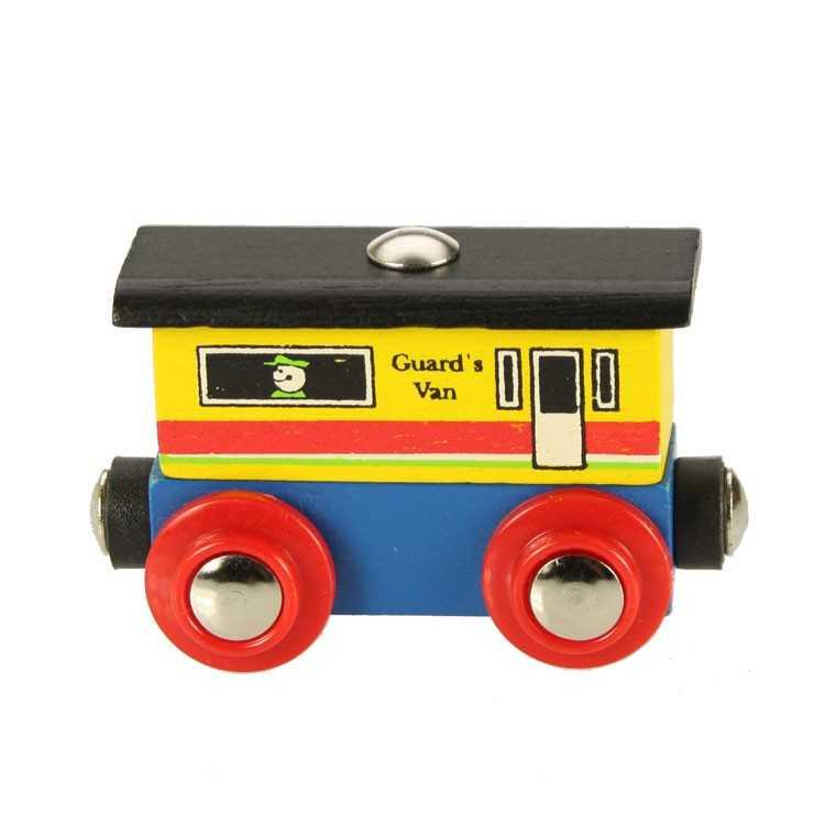 Bigjigs Rail dřevěná vláčkodráha - Vagónek