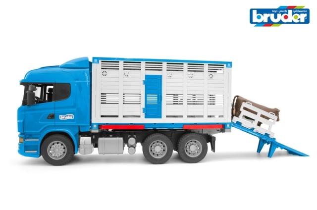 Bruder Nákladní auto Scania R pro přepravu dobytka