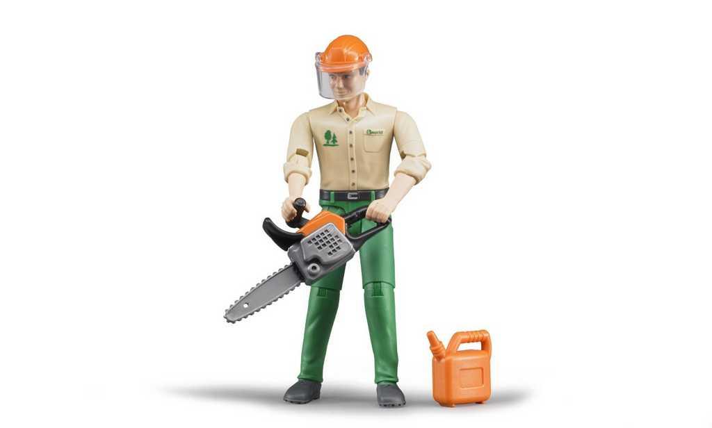 Buder Figurka lesní dělník