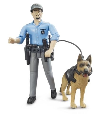 Bruder Policista se psem