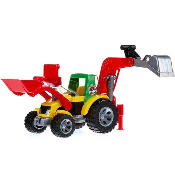 Bruder Roadmax - Traktor - nakladač - bagr