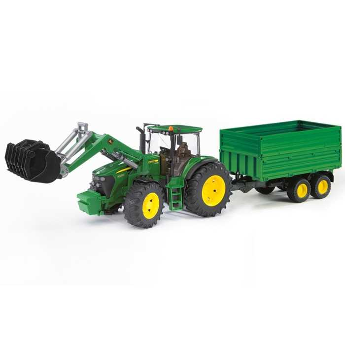 Bruder Traktor JOHN DEERE 7930 s vozem