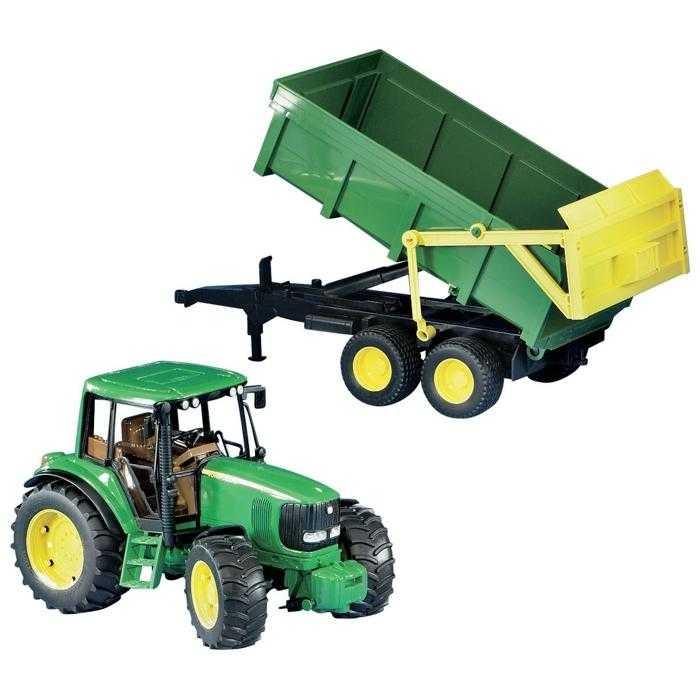 Bruder Traktor JOHN DEERE  6920 + sklápěcí valník