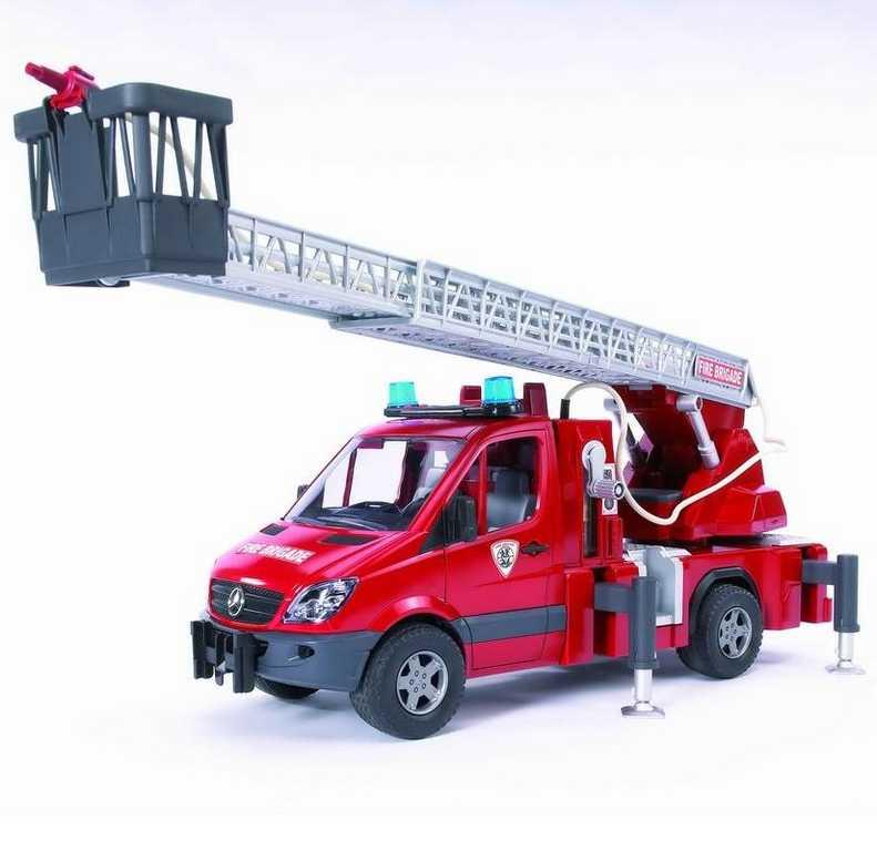 Bruder - MERCEDES BENZ  Sprinter - požární žebřík