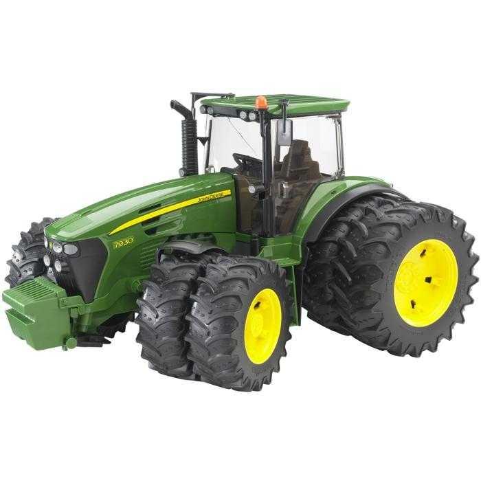 Bruder Traktor JOHN DEERE 7930 s přídavnými koly