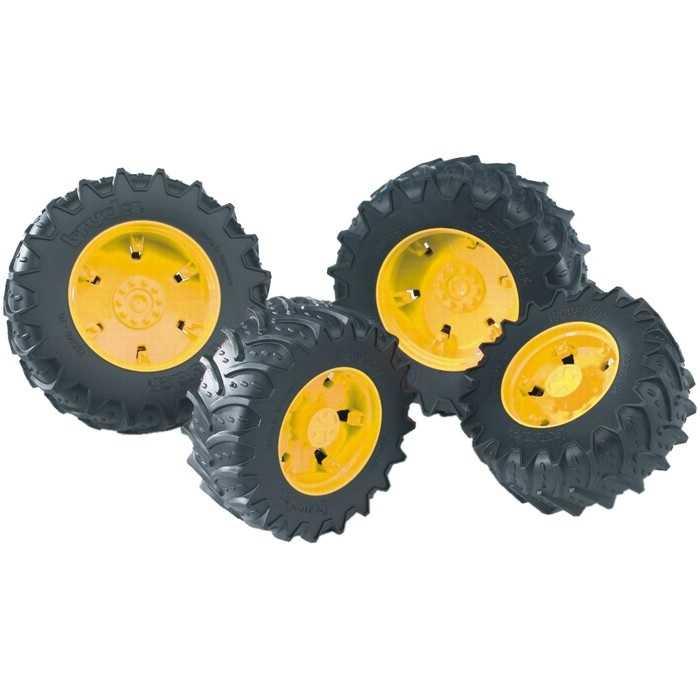 Bruder Dvojitá kola pro traktory řady 3000 žlutá