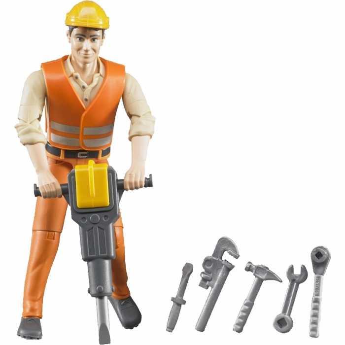 Buder Fgurka lesní stavební dělník