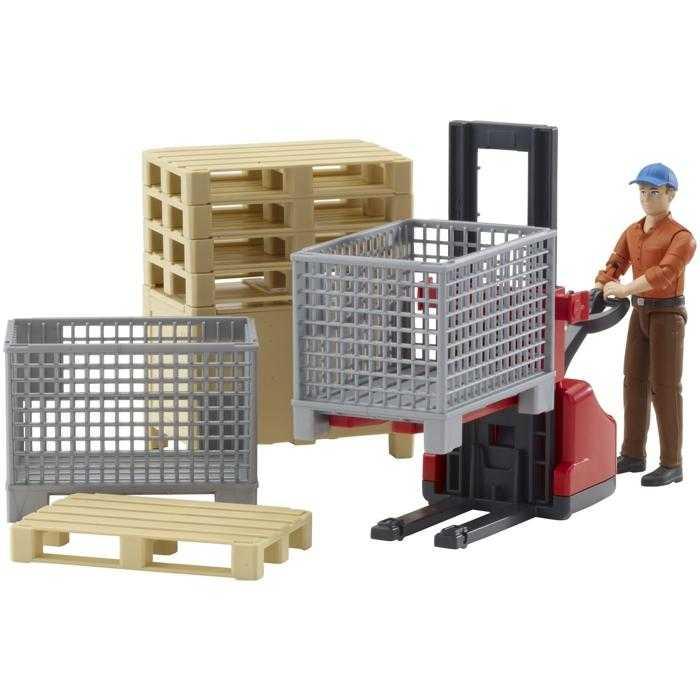 Bruder Logistický set, figurka