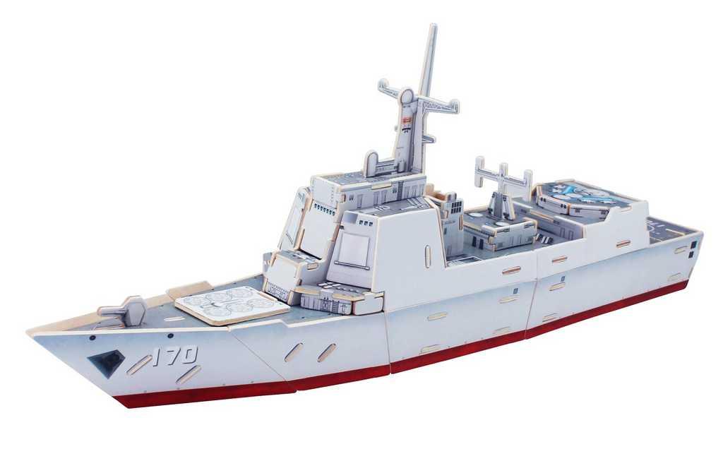 RoboTime Dřevěná útočná loď Destroyer Typ 052C