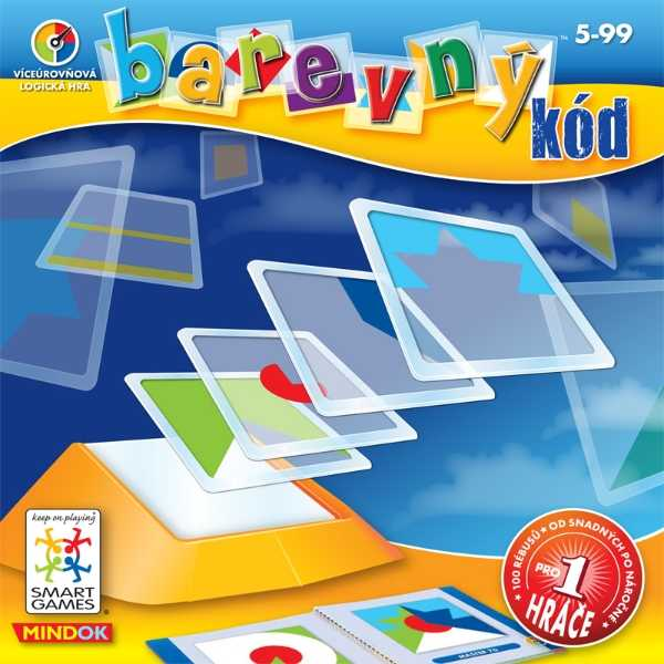 Dětské hlavolamové smart hry - Barevný kód
