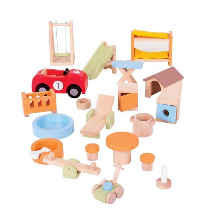 Bigjigs Toys dřevěné hračky - Vybavení na zahradu
