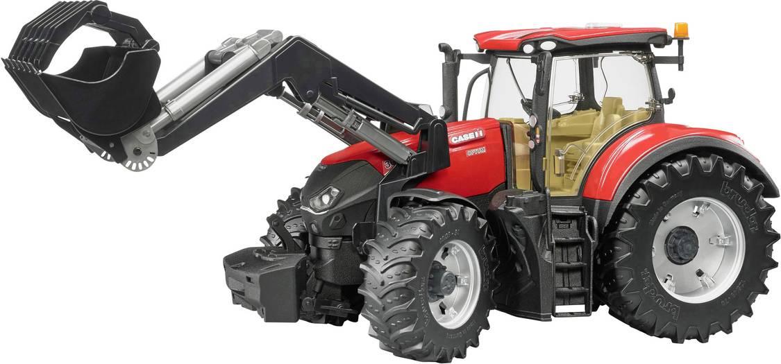 Bruder Traktor Case IH Optum 300 CVX + čelní nakládač