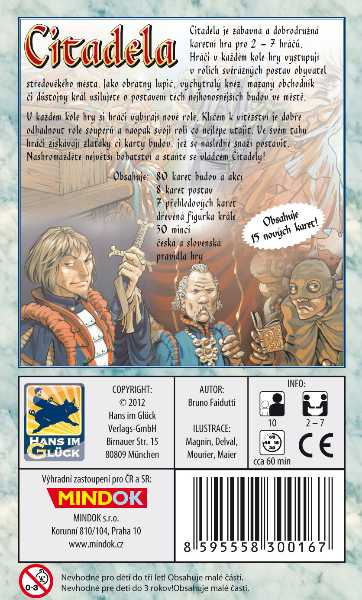 Karetní hry - Citadela