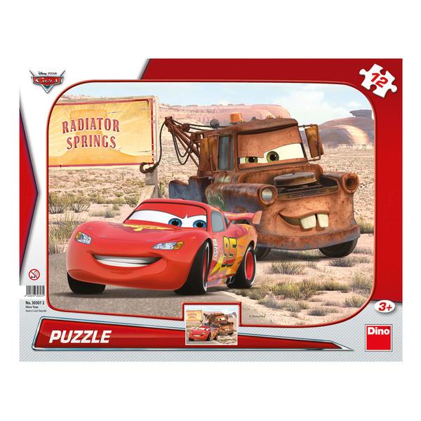 Dino Puzzle Cars: Blesk & Burák 12 dílků