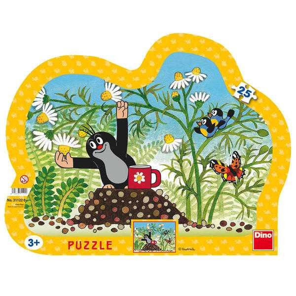 Dino Papírové puzzle Krtek s hrníčkem 25 dílků